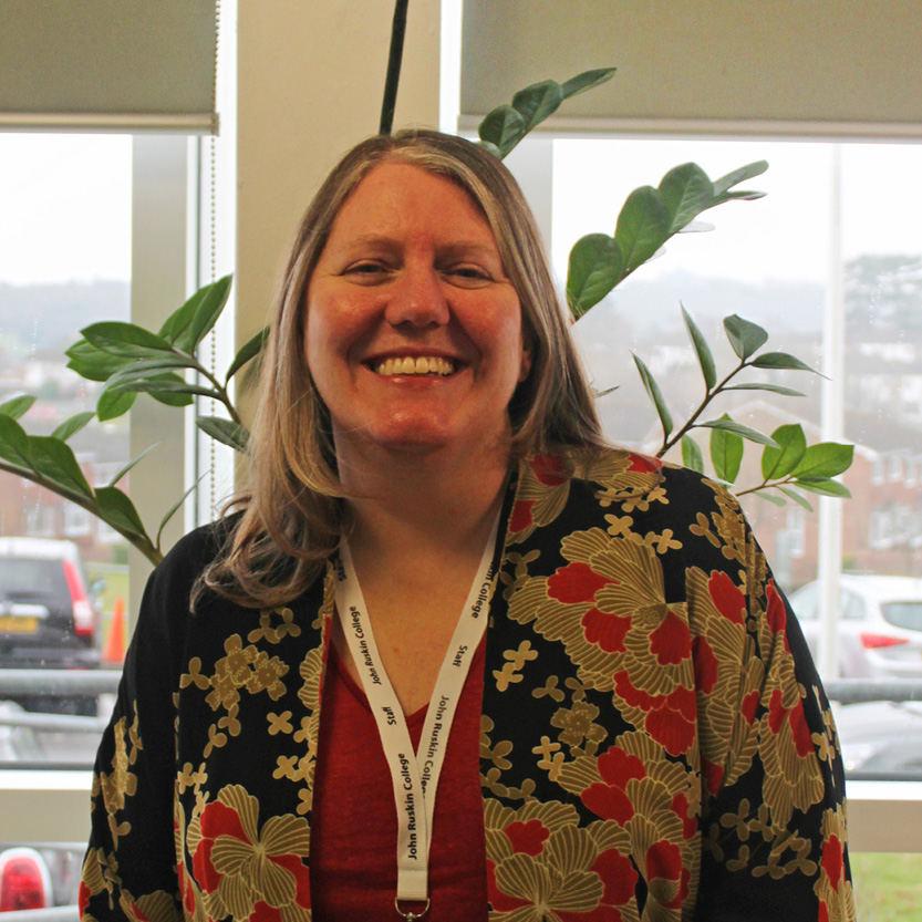 Sarah Hayes-Mooney, Careers and Employability Adviser at John Ruskin College