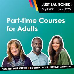 Part-time Courses 2021-22