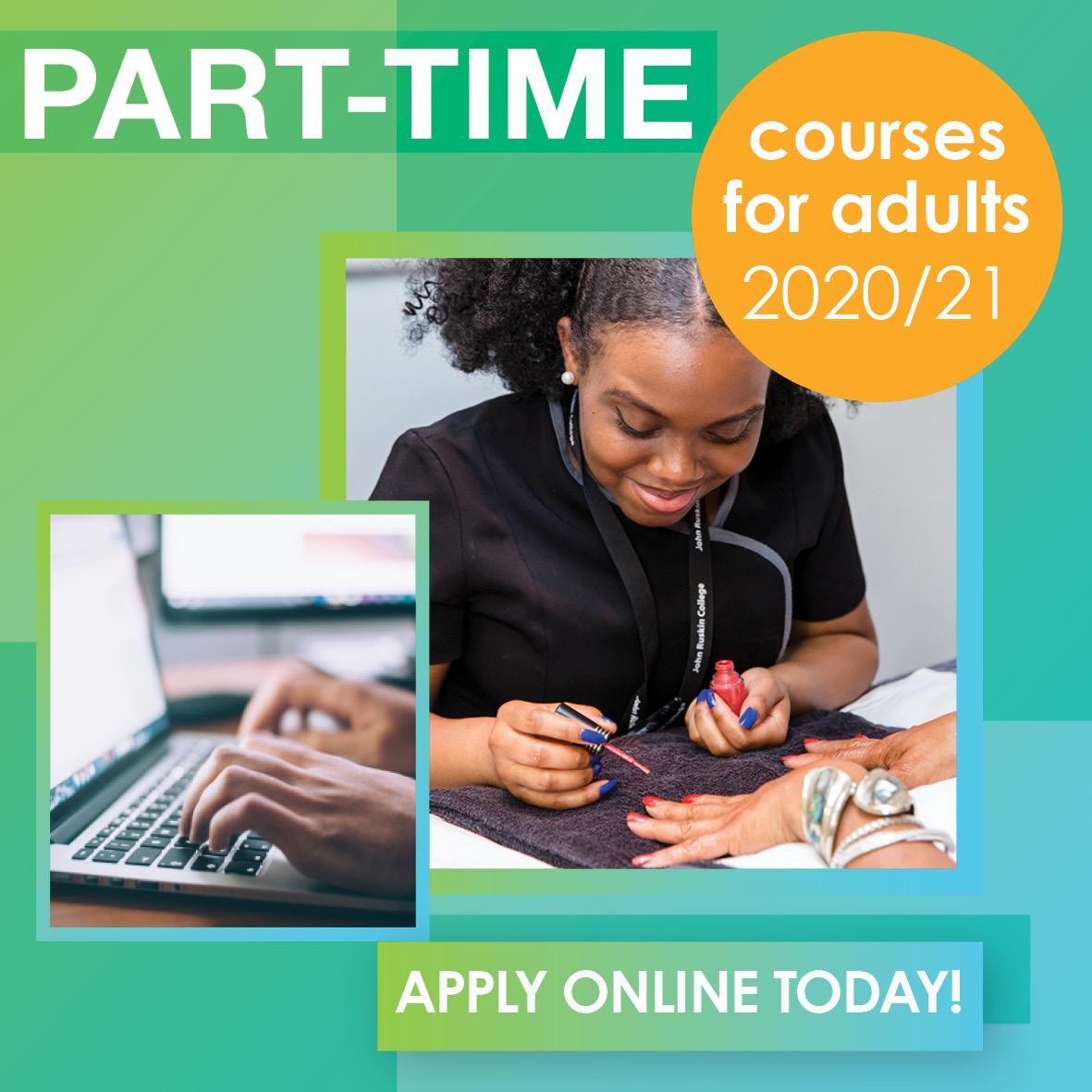 Part-time Courses 2020-21
