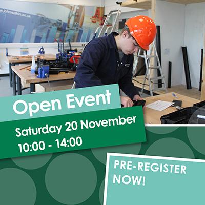 Open Event 20 November