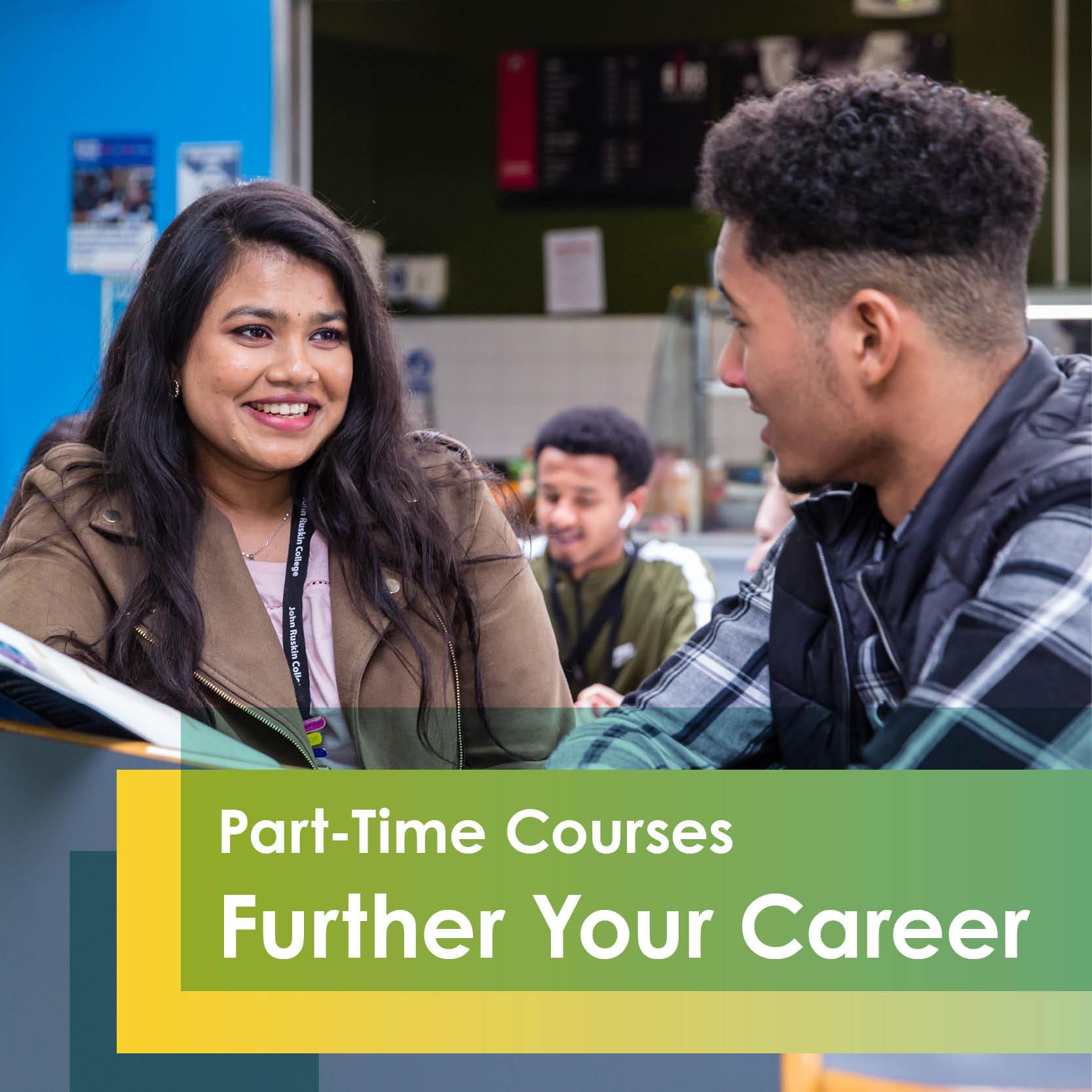 Open the door at JRC: Part-time Courses