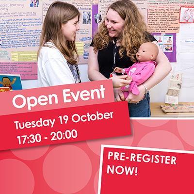 Open Event 19 October