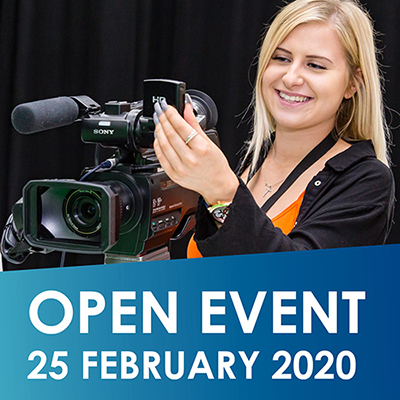 Come to our next Open Event
