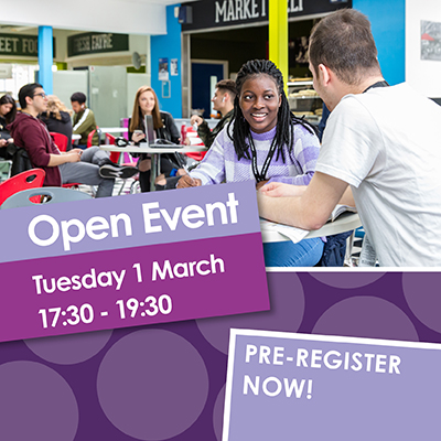 Open Event 01 March