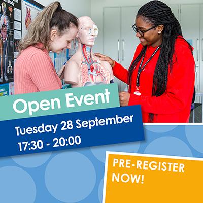 Open Event 28 September