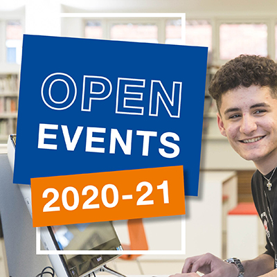 Open Events 2020/21