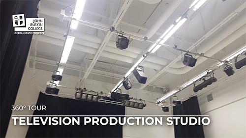 Television Production Studio 360 Tour
